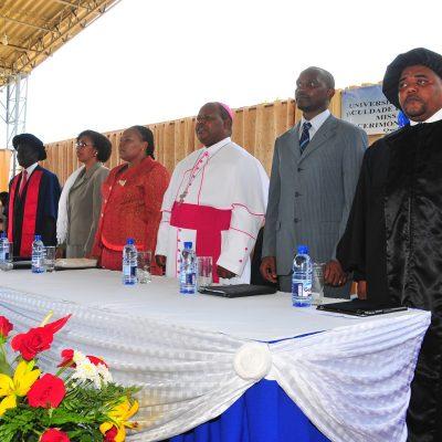 2012 primeira Graduação na FCSP
