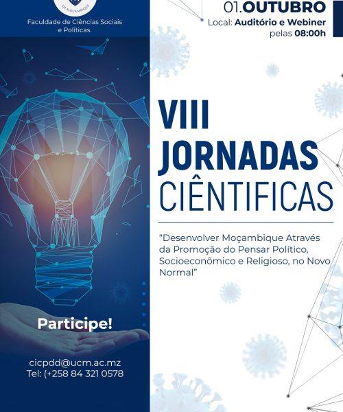 CARTAZ - VIII JORNADAS CIENTIFICAS UCM (1)